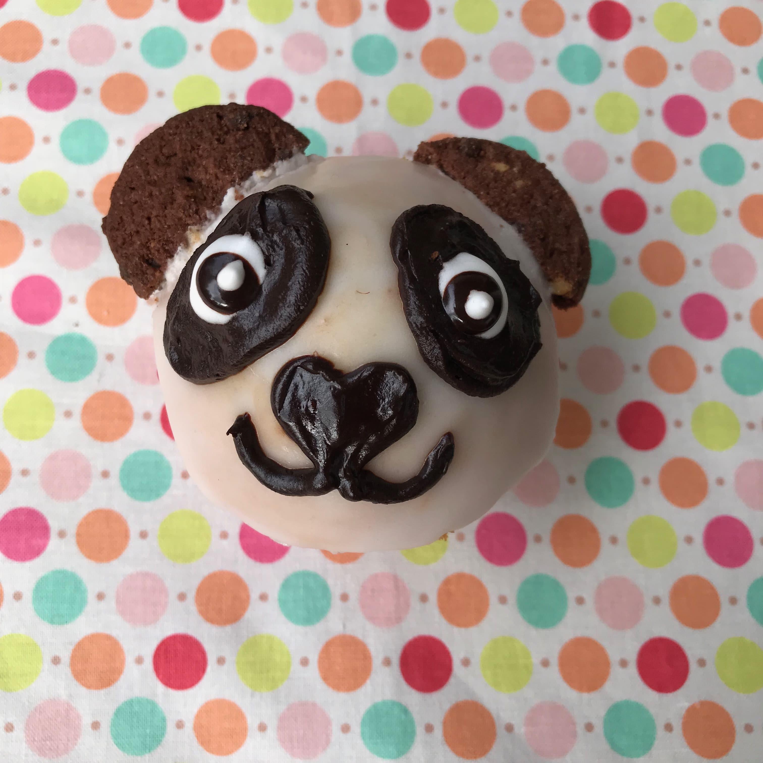 Lustige Muffins, Pandabaer, Tier Party, Essen