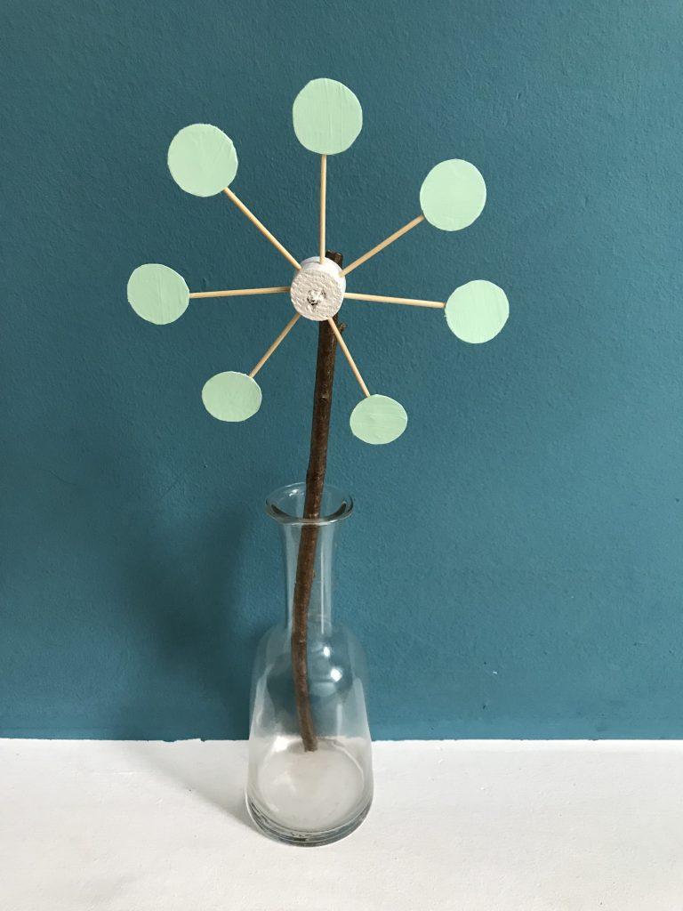 DIY Blume aus Tetra Pak selber machen