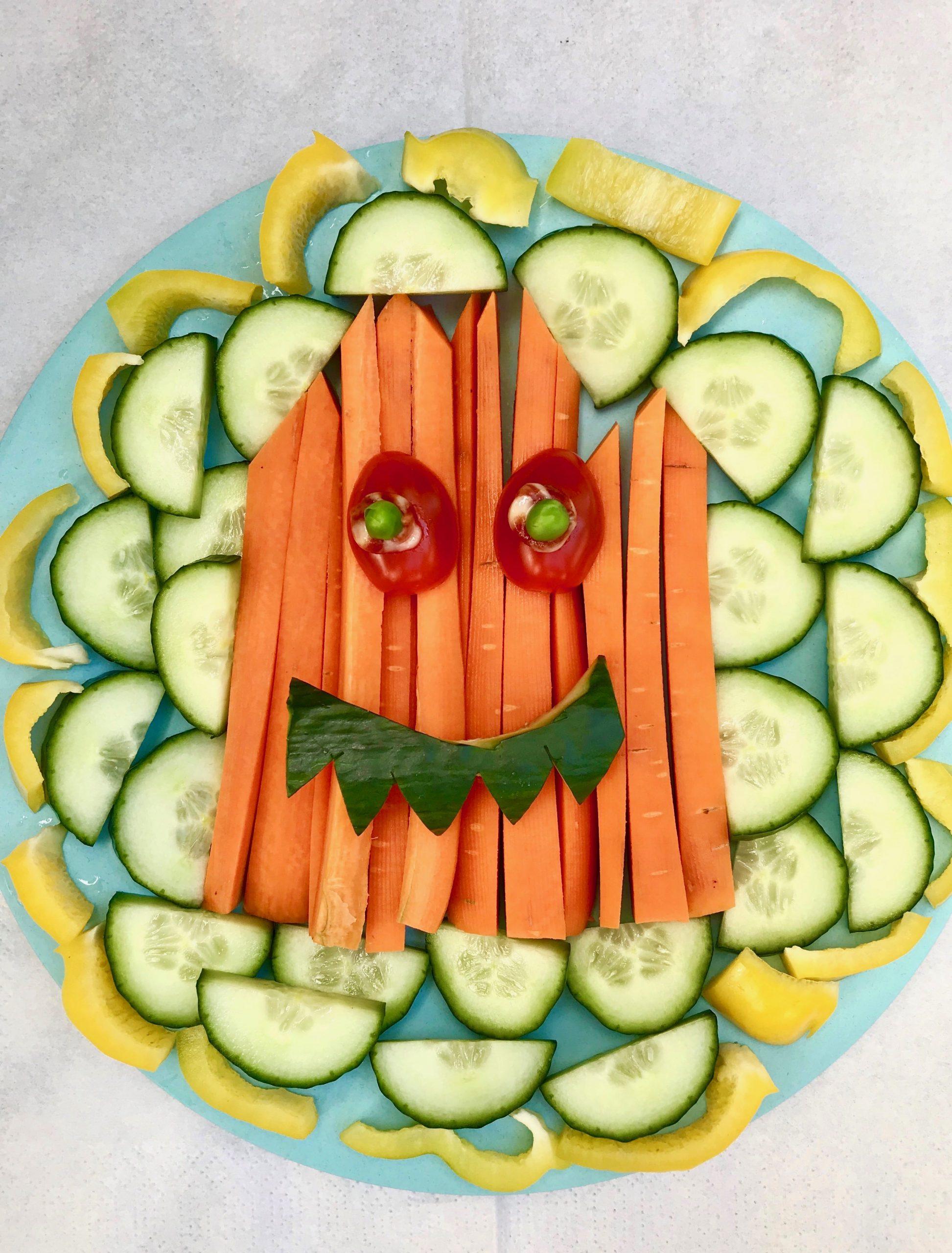 Halloween Fingerfood für Kinder, Rezept