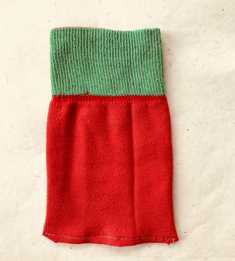 DIY Adventskalener aus Socken selber machen, Upcling