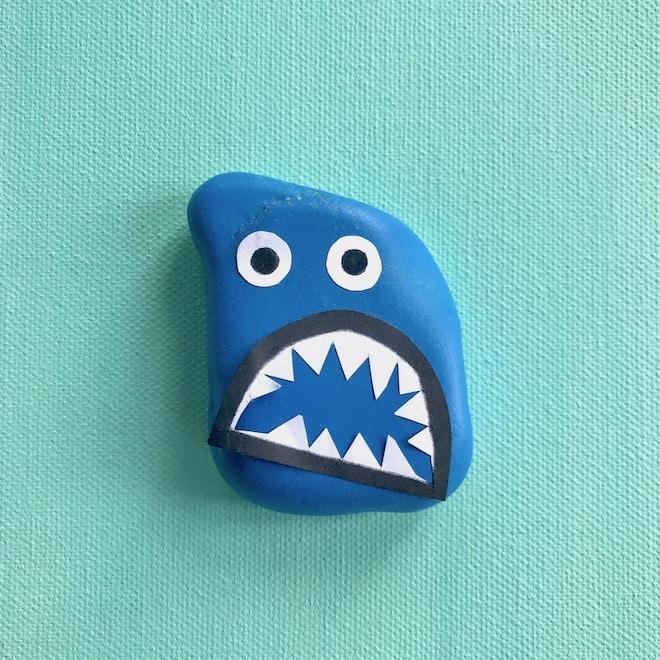 Steine bemalen, Monster