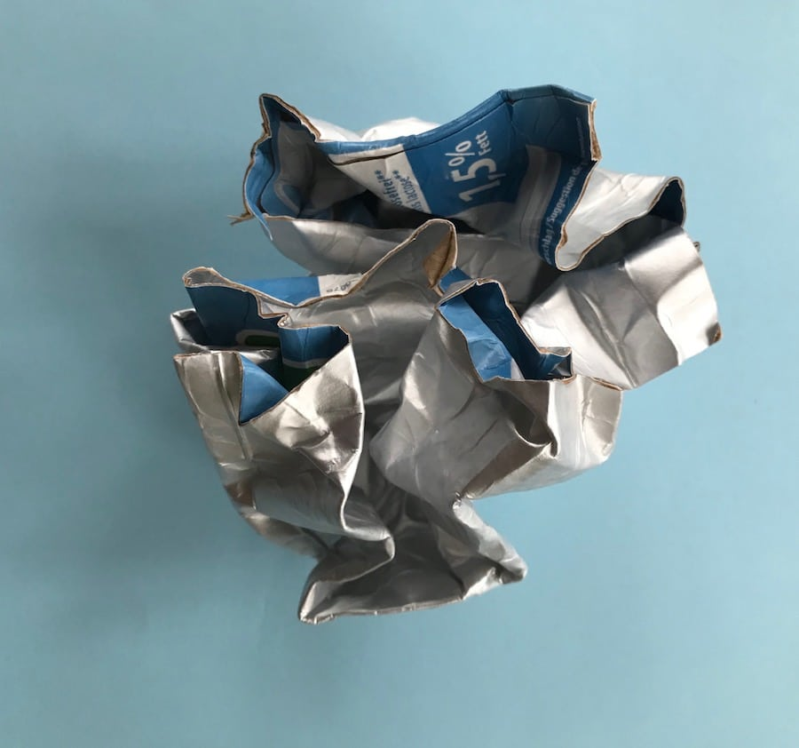 DIY Tetrapak, Verarbeitung, Geschenktüte, Upcycling