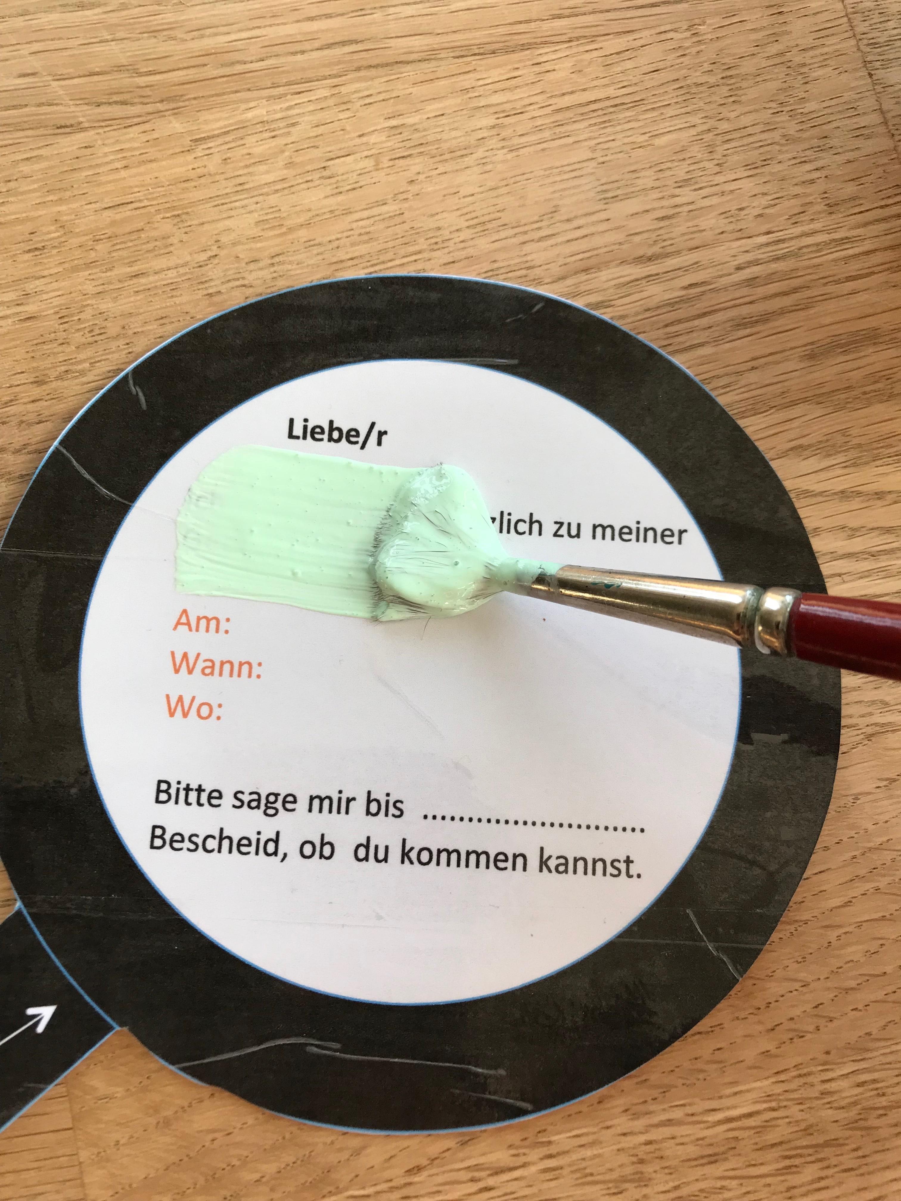 DIY Forscherparty, Einladung, Anleitung