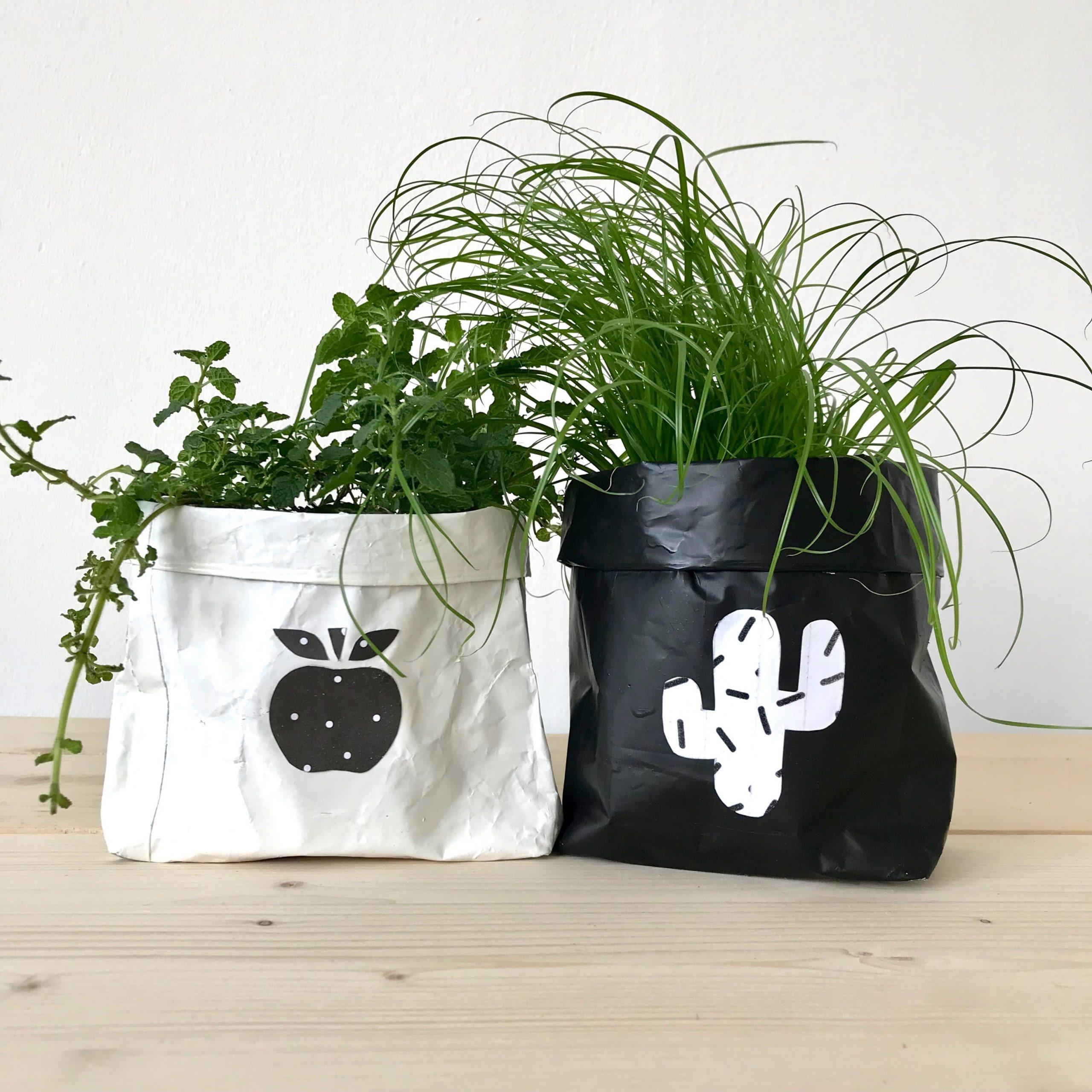 DIY Blumentopf, Upcycling für Muttertag zum selber machen