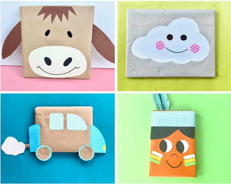 Geschenkverpackung Kinder Ideen
