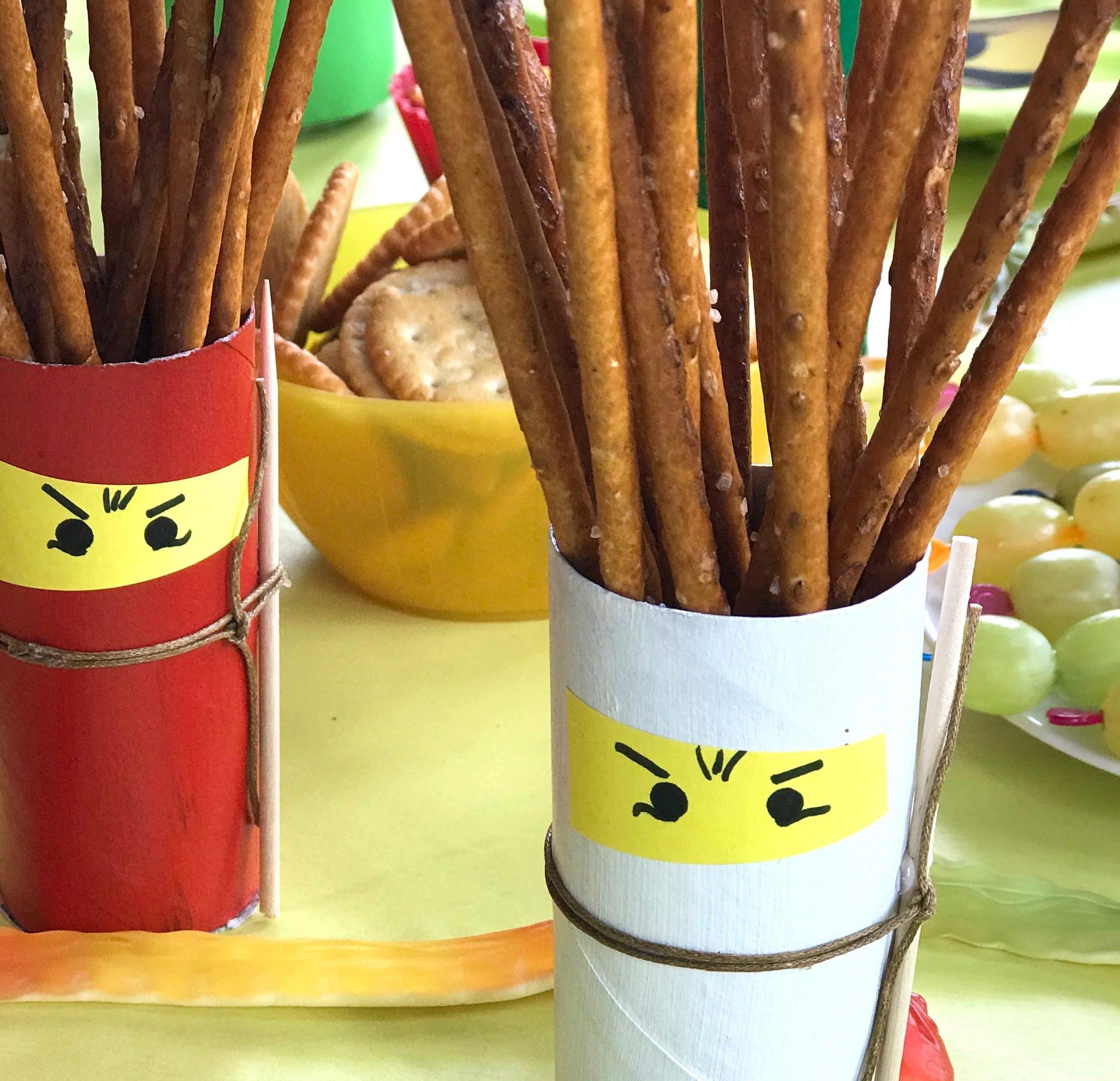 ninja-geburtstag-deko-aus-klorollen-selbermachen-upcycling-kindergeburtstag-nachhaltige-feiern
