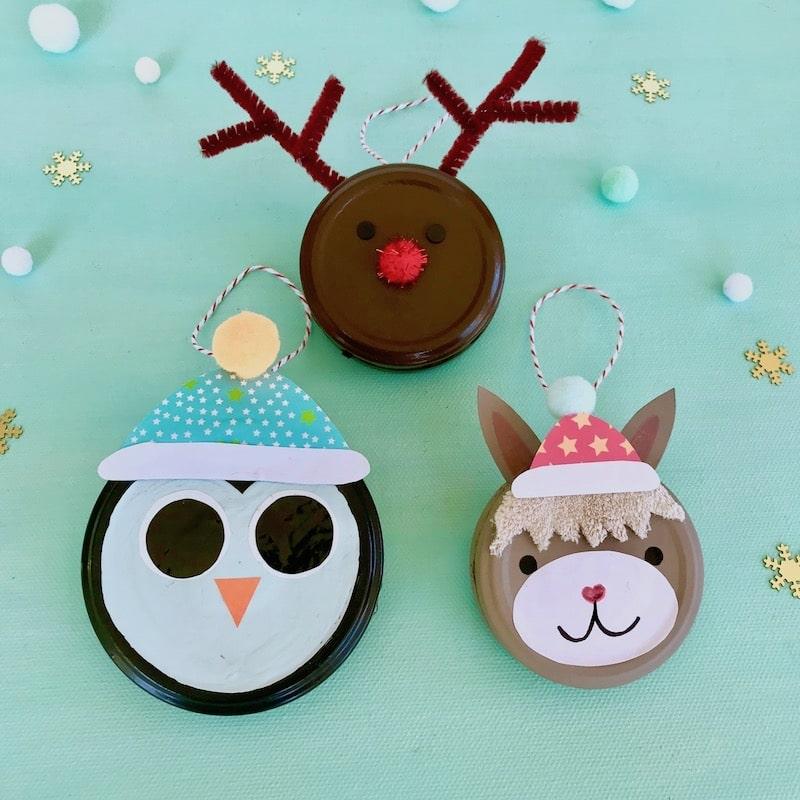 DIY Weihnachtsanhänger, Cuchikind Adventskalender 2018