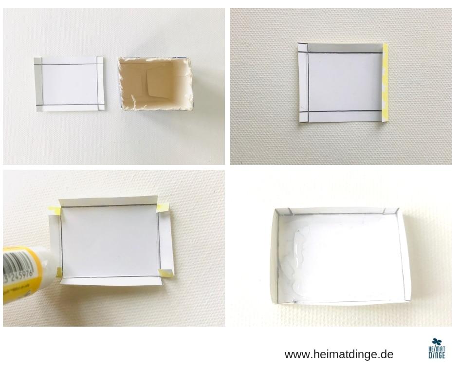 DIY Christbaumschmuck Suessigkeiten, basteln, Anleitung Deckel, Upcycling