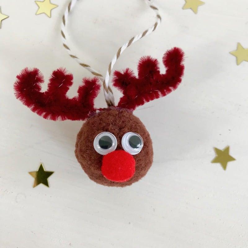 Weihnachtsschmuck, Rentier, basteln