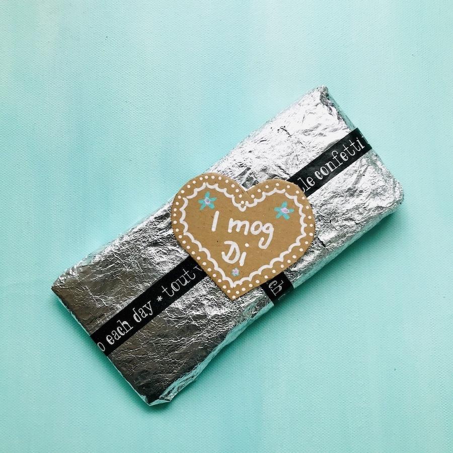 Schokolade selber machen, Upcycling Verpackung, Schokoladen-Wettessen, Spiele Kindergeburtstag