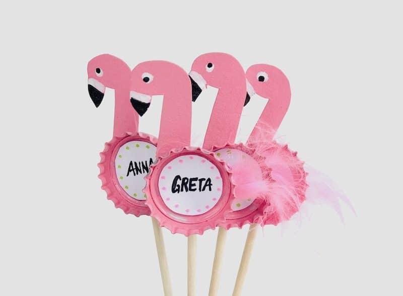 flamingo party picker basteln