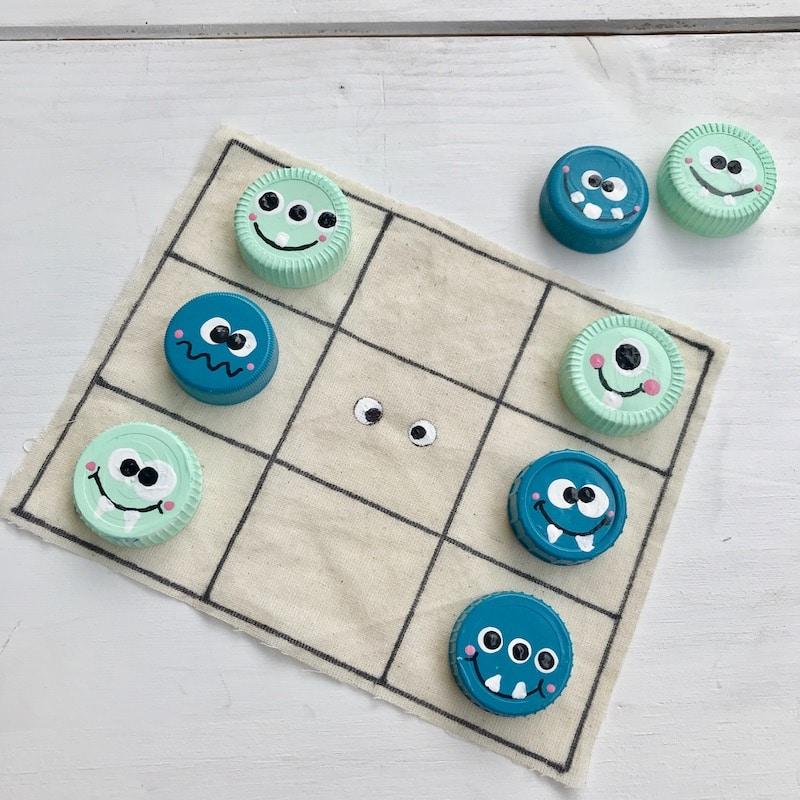 Spiele selber basteln: 3-in-1 Kinderspiele Set aus alter