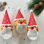 nikolaus basteln kinder, weihnachtsbasteln kindergarten