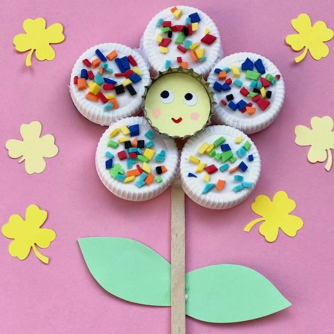 Blumen Basteln 5 Einfache Upcycling Ideen Für Kinder Heimatdinge