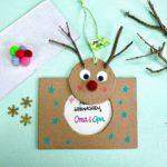 weihnachtskarte-mit-kindern-basteln-rudolph-weihnachtsgeschenk-oma-selbermachen
